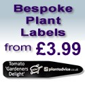 Bespoke Plant Labels