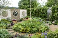 Show garden at the Malvern Spring Gardening Show