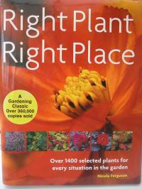 Book cover of Right Plant Right Place by Nicola Ferguson