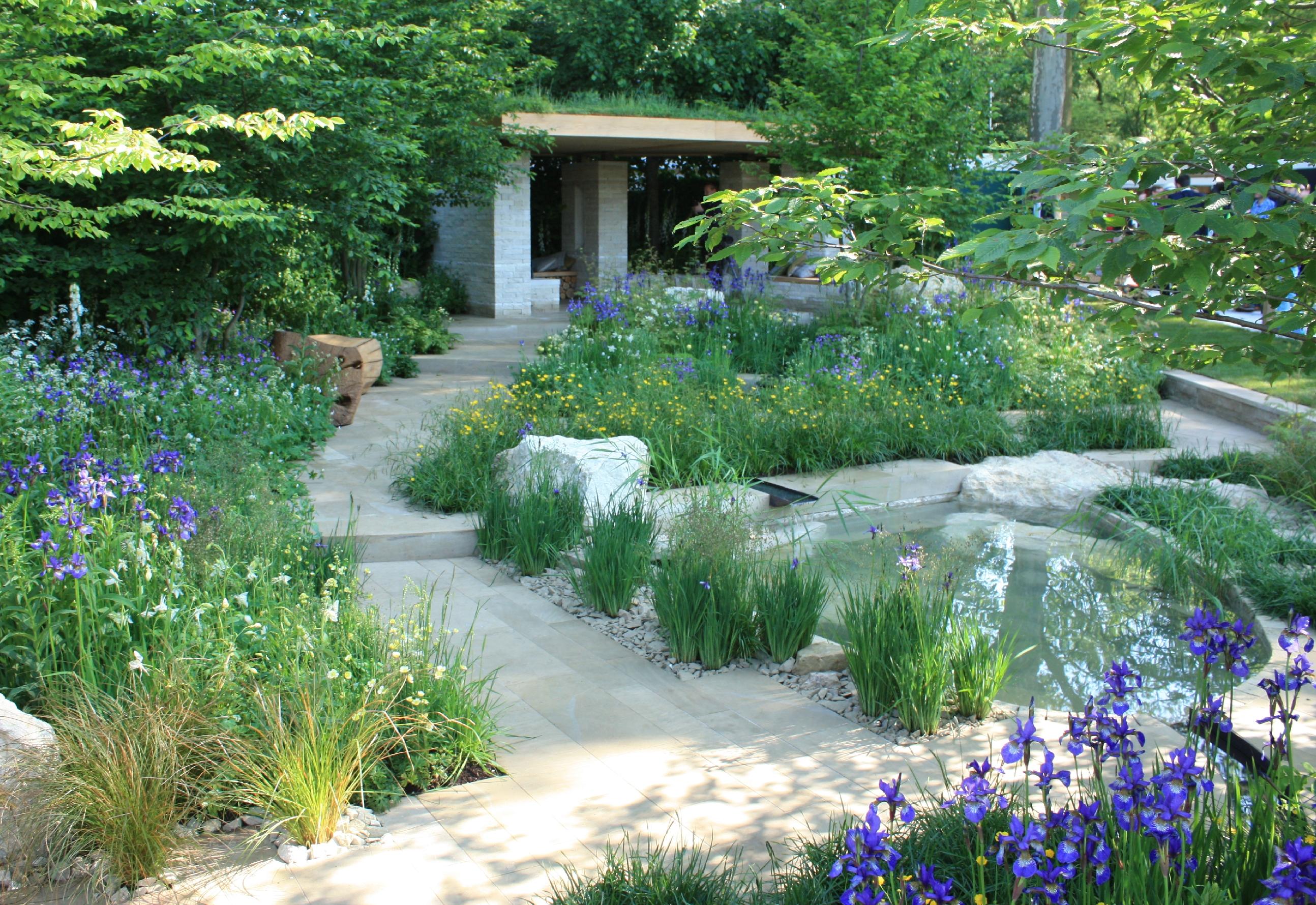 Rhs chelsea 2014 the homebase garden time to reflect for Garden trees homebase