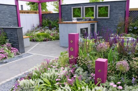 BBC Gardeners' World Live 2017 - The Contemporary Bee and Butterfly Garden