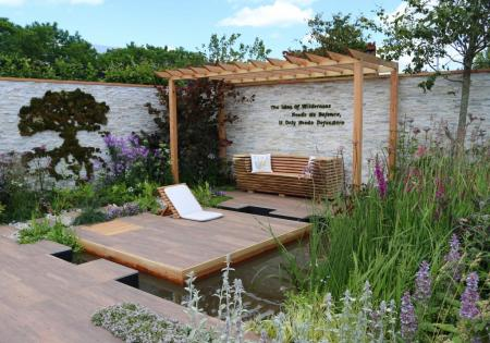 BBC Gardeners' World Live 2017 - The Big Fish Landscapes Garden