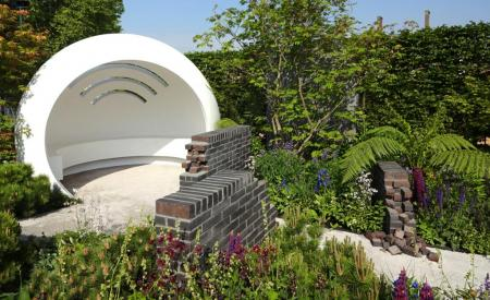 RHS Chelsea 2018 - The CHERUB HIV garden: A Life Without Walls