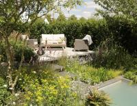 The A Place to Meet Garden at the 2019 RHS Hampton Court flower show