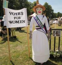 Scarecrow competition at the 2015 RHS Hampton Court Palace flower show