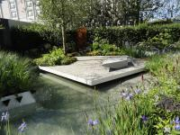 Hugo Bugg's Chelsea 2014 garden promoting water ecology in our gardens