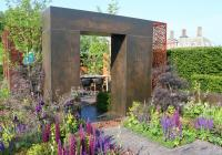 The Urban Flow Garden at the 2018 RHS Chelsea flower show