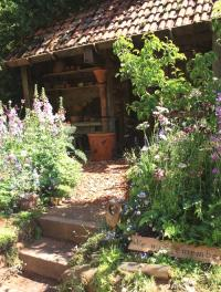 The DialAFlight Potter's Artisan Garden at RHS Chelsea 2014