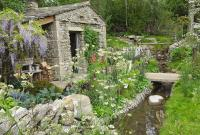 The Welcome to Yorkshire Garden, a small piece of the Yorkshire Dales at the 2018 Chelsea flower show