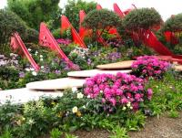 The Silk Road Garden at the RHS Chelsea flower show 2017